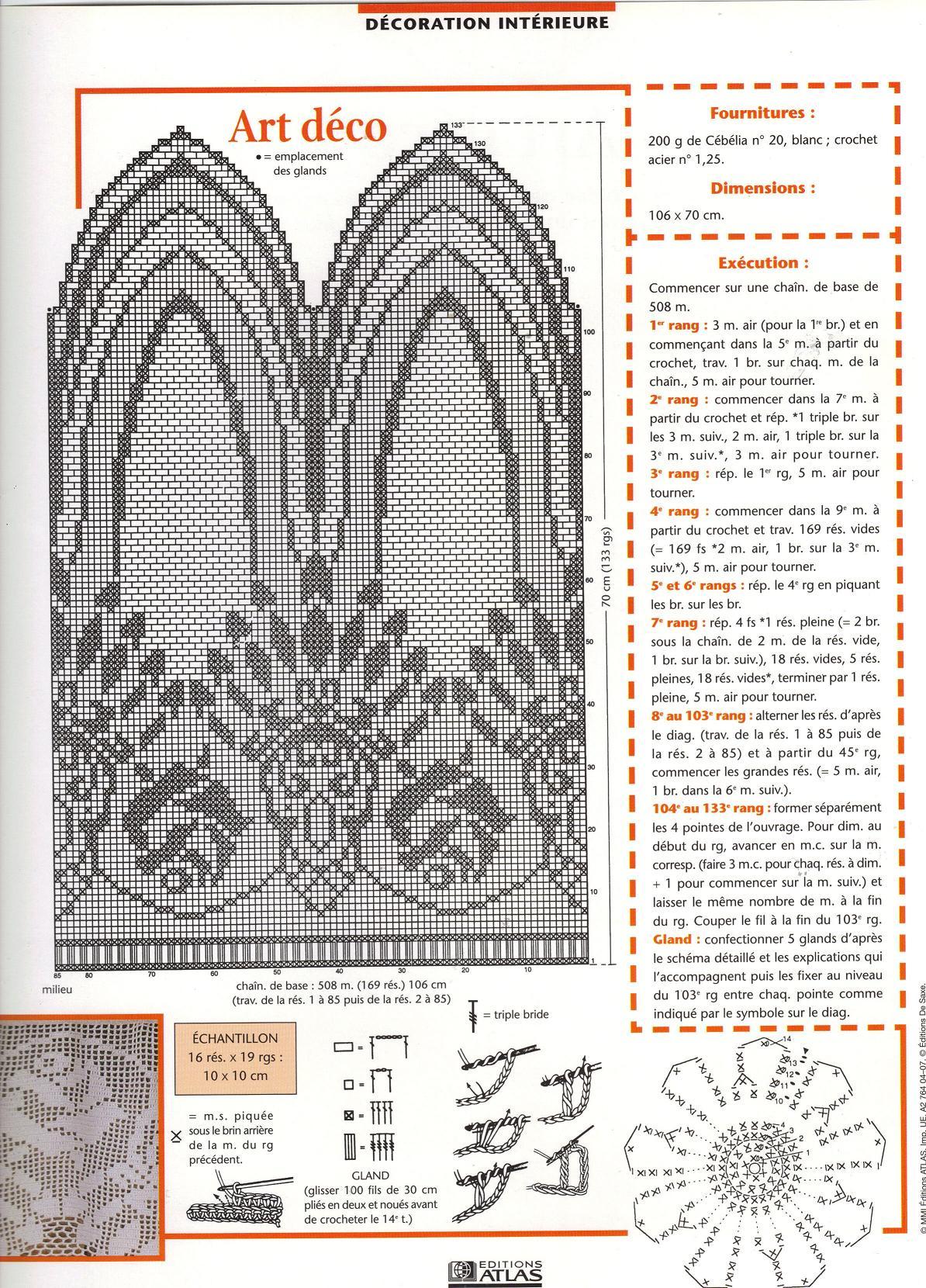 modeles de crochet page 3. Black Bedroom Furniture Sets. Home Design Ideas