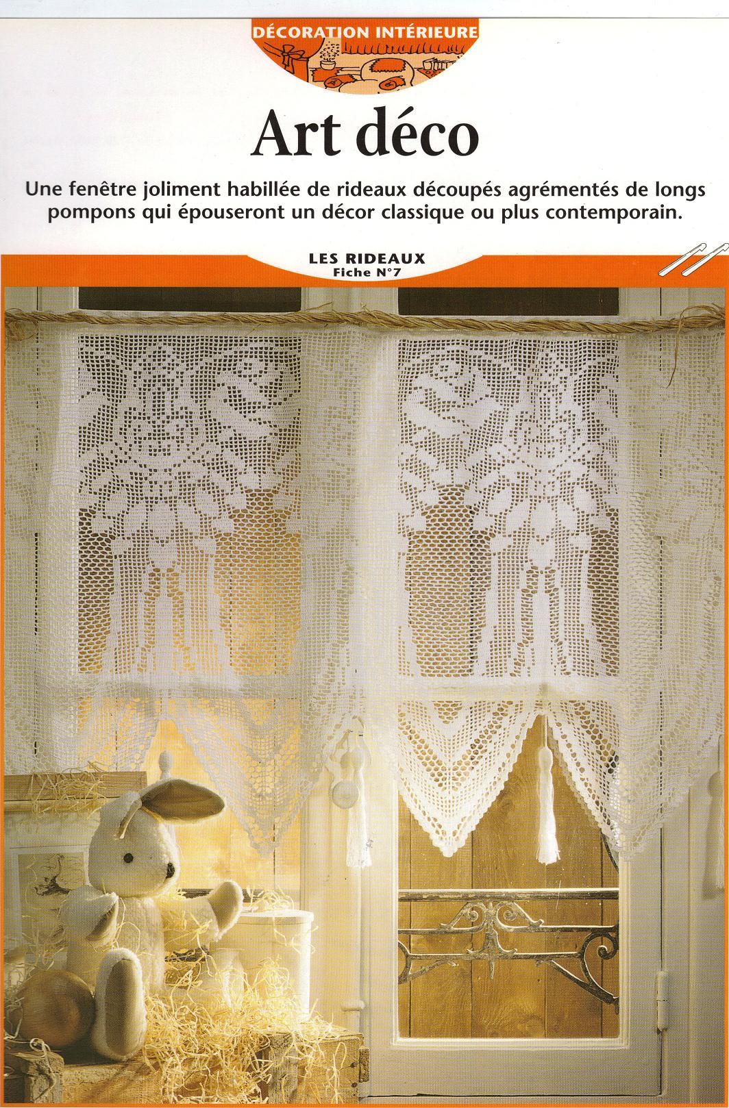 Rideaux crochets - Modeles de rideaux au crochet gratuits ...